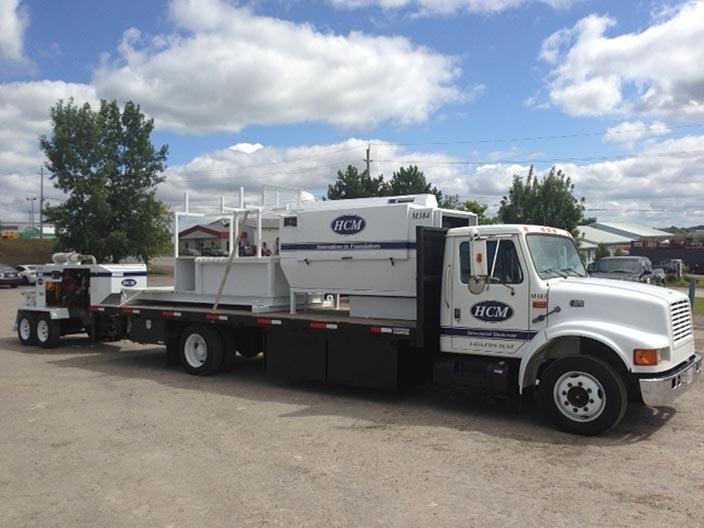 HCM Shotcrete - Shotcrete truck and pump