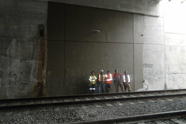 HCM Shotcrete - Hagarman Bridge - GO Transit / Metrolinx