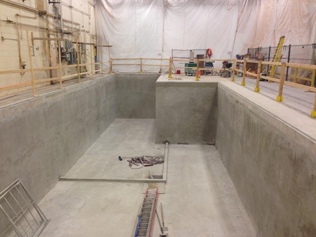 UTAS Landing Gear Plant - Finished machine pit