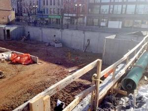 HCM Shotcrete - James and Vine, Hamilton – Foundation Walls